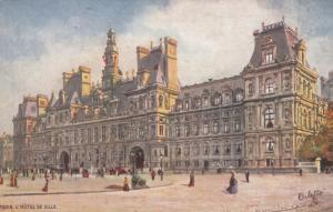 PARIS, France, 1900-10s; L'Hotel De Ville, TUCK SERIES 952 No. 49