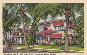 SHAWDOW LAWN  , WEST PALM BEACH , Florida , 30-40s