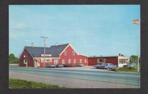 ME Maine Textile Center Store BELFAST MAINE Postcard