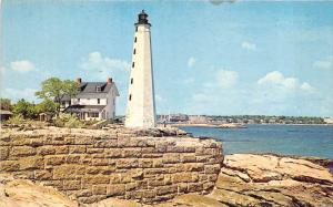 18719 Connecticut, New London, The Lighthouse, Mouth Of The Thames River
