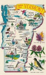Map , Vermont , 50-60s #4