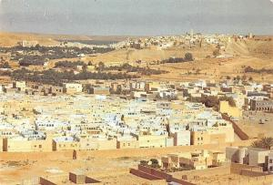 Algeria Ghardaia Beni-Isguen Vue Generale Panorama General view