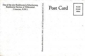 CURACAO , N.I. , 1930s ; Residence in Scharlooweg
