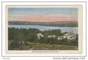 Burkehaven Hotel & Lake Sunapee,New Hampshire,1925