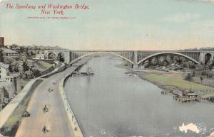 New York, The Speedway and Washington Bridge, Bruecke Pont