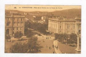Aerial of Busy Street & Palais de Justice,Constantine,Algeria 1910-20s