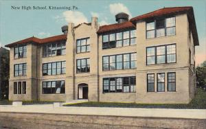 KITTANNING, Pennsylvania, 1900-1910s; New High School