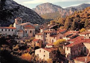 France Languedoc Saint Guilhem le Desert Village Church Eglise