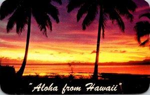 Hawaii Tropical Sunset Aloha From Hawaii 1958