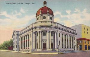 Florida Tampa First Baptist Church