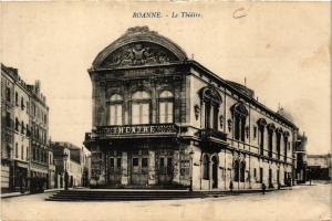 CPA ROANNE Le Théatre (339031)