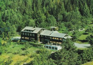 Brokefjell Hotel Telemark Norway Aerial Postcard