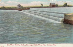 OMAHA , Nebraska , 1908 ; City Water Settling Basins