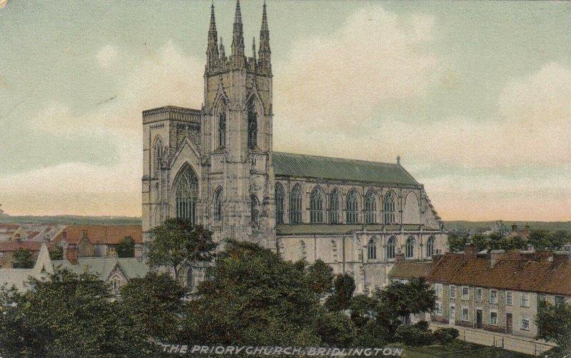 BRIDLINGTON , Yorkshire , England , 1900-10s ; Priory Church