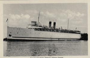 COBOURG , Ontario , 1935 ; Canadian Car Ferry