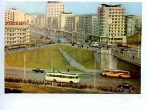 180375 Korea Pyongyang Brand new street Chollima old postcard