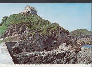 Devon Postcard- 14th Century St Nicholas Chapel, Lantern Hill, Ilfracombe RR1781