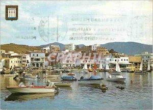 Modern Postcard Port Llansa (Costa Brava) Partial Charter