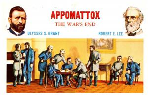 Appomattox The War's End   Ulysses S.Grant Robert E. lee
