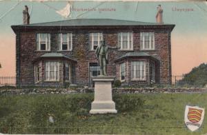 Workmens Institute Working Mens Club Llwynpia Clwyd Welsh Antique Postcard