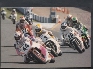 Sports Postcard - Motor Sport - Grand Prix Motorcycle Racing at Donington  T1365