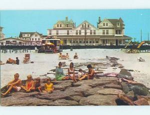 Unused Pre-1980 HOTEL SCENE Cape May New Jersey NJ B0443