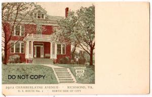 Tourist Rest, Chamberlayne Ave, Richmond Va