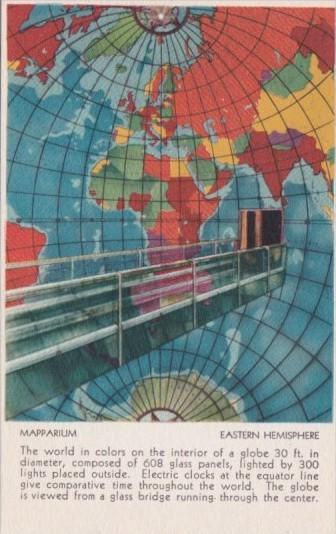Map Of Eastern Hemisphere Mapparium At Christian Science Publishing House Bos...