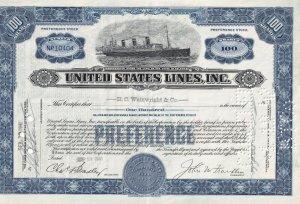 Preference Stock 100 Shares - NP10404, S.S. Leviaton, H.C. Wainwright Co.