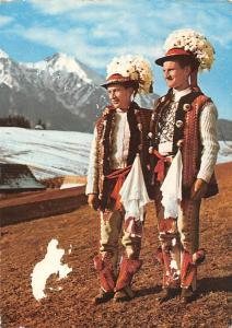 Slovakia Best men of Zdiar, High Tatras