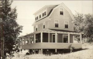 Whitten's Camps Moosehead Lake Rockwood ME Real Photo Postcard