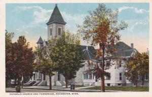 Minnesota Rochester Catholic Church and Parsonage