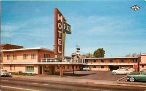 CA, Fresno, California, Plaza Motel, Colourpicture P20886