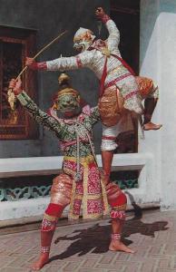 Khon, Masked Play, Thai Classical Dance, Thailand, 40-60´s
