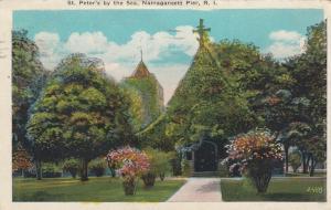 NARRAGANSETT PIER , Rhode Island , 1927 ; St Peter's by the Sea