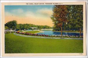 Canal, Boldt Estate, 1000 Islands NY