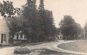 LPV65 Thetford Vermont VT Postcard RPPC View