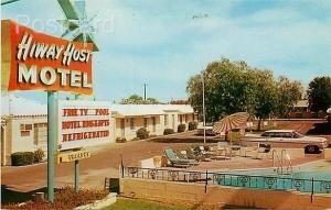 AZ, Mesa, Arizona, Hiway Host Motel, Pool, Dexter No.  35783-B