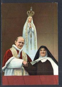 Pope Paul VI Fatime,Portugal BIN