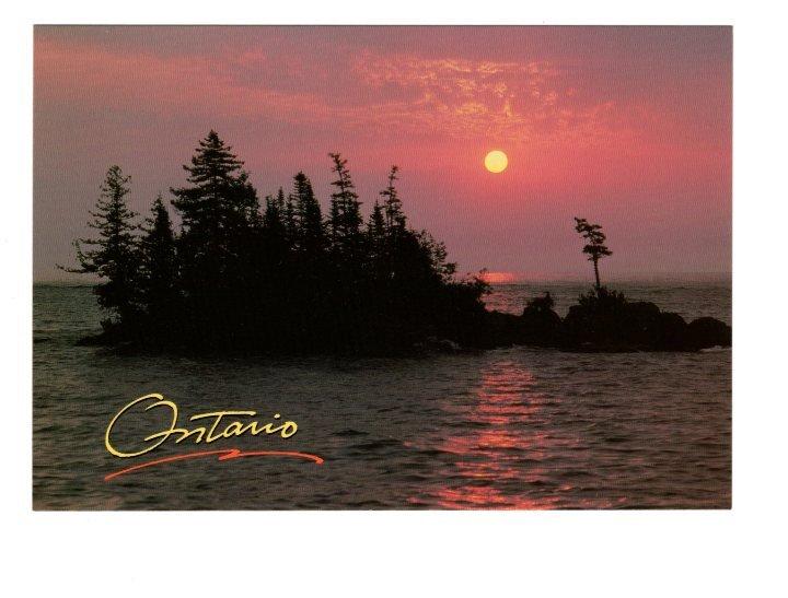 Lake Superior, Ontario, Large 5 X 7 inch Postcard