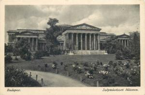 Budapest Hungary Museum of fine Arts