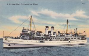 Steamship S.S. Steel pier , PROVINCETOW , Massachusetts , 30-40s Version 1