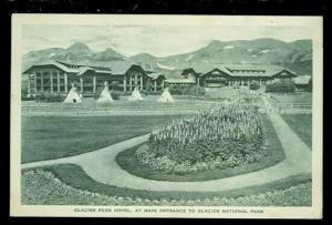 MT, Glacier National Park, Montana, Glacier Park Hotel