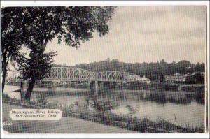 Muskingum River Bridge, McConnellsville OH