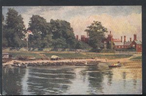 Middlesex Postcard - Hampton Court Palace From The Thames  RS13414