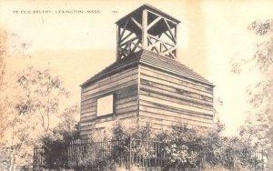 Ye Old Belfry Lexington, Massachusetts Postcard