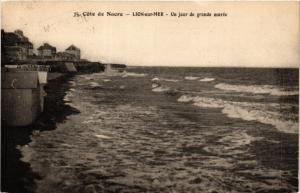 CPA Cote de Nacre-Lion sur Mer-Un jour de grande marée (422615)