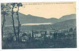 AIX-les BAINS (Savoie)-Vue generale, France 00-10s