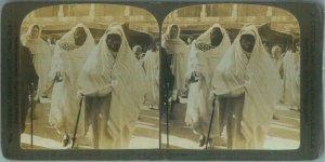 87499  - VINTAGE STEREOVIEW ----  TUNISIA  Tunis  1901
