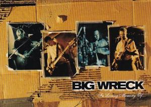 Advertising Big Wreck Tower Records